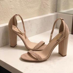 lulu's ankle strap heels